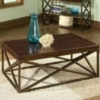 美式家具 铁艺仿古式高档旧实木茶几 桌子 餐桌餐桌椅