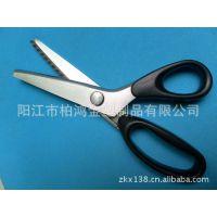 【厂家直销】批发供应优质不锈钢布样花边裁缝剪牙布剪刀(图)