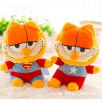 超萌加菲猫变身复仇者联盟毛绒玩具变装肥猫公仔礼品婚庆抓机娃娃