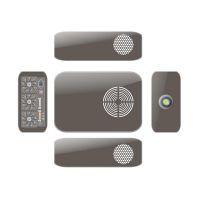 定做投影仪外壳 天然橡胶材质摄像机外壳订做 注塑加工批发投影仪塑胶外壳