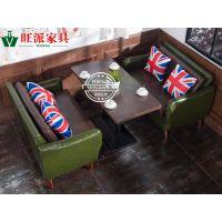特色餐厅桌椅 餐厅简易桌椅 餐厅用实木桌椅