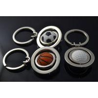 创意男士运动篮球世界杯足球高尔夫球钥匙扣迷你钥匙链挂件批发