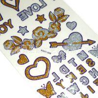 专业提供可定制多款图案环保水转移纹身纸贴