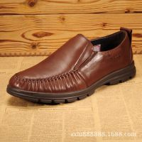 新款流行男鞋透气日常休闲男鞋英伦韩版潮流舒适板鞋低帮皮鞋单鞋
