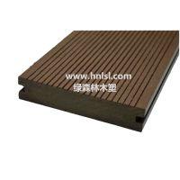 供应绿森林 户外地板 木塑实心地板(LSLS-022 )
