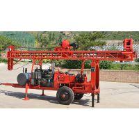 山东鲁恒 水文地质水井钻机 LHZJ-50拖车式地表钻机