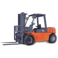 南沙出口柴油动力燃料叉车载重5T 单人驾驶集装箱上下货物 江门鸿力叉车厂家
