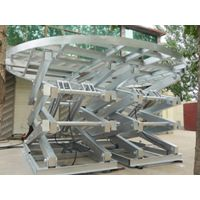 电动液压升降平台 剪叉式导轨升降机货梯舞台定做家用小型