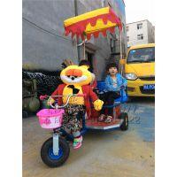 小洋人蹬车 机器人拉车 机器人拉三轮车 洋人拉车 毛绒玩具车 音乐洋人车 广场游乐车