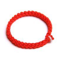 低价促销本命年红绳手链 平安扣红绳手链批发 开运天然水晶批发