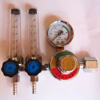 【灿燊金属】热销供应 优质双管氩气表精密 氩气减压器 质量保证