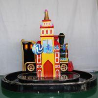 南玮星英伦火车游戏机儿童轨道小火车室内游乐园电玩设备厂家