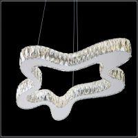 酒店楼梯走廊led吊灯 不锈钢水晶客厅吊灯 餐厅别墅灯卡骐灯饰照明