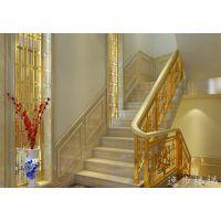 武汉楼梯栏杆、逸步楼梯(图)、铁艺楼梯栏杆