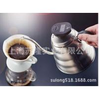 日本哈里欧VKB不锈钢滴漏式咖啡壶,长嘴细口水壶