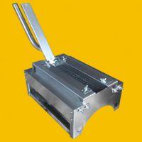 手压面筋串切花机,小型面筋对切机-明途食品机械厂