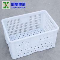 2号果品周转箱 540*370*285 mm 旭昊食品运输筐周转箱 塑料周转箱