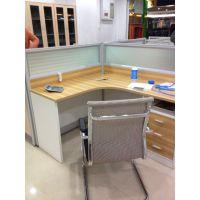 供应新疆红光牌H09型板式免漆办公屏风办公桌
