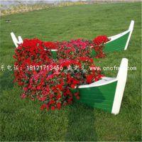 价格便宜的户外景观船/公园装饰木船/楚风木船