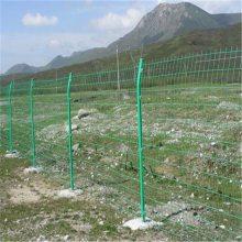铁路防护栅栏 园林围墙网 浸塑养殖网
