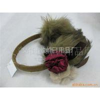 耳罩厂家供应耳套保暖耳罩可爱蝴蝶结耳罩长毛绒护耳套