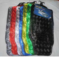 汽车PVC铝膜地垫,汽车脚垫,轿车五座通用脚垫HC4009
