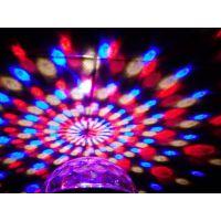 五彩魔球灯 水晶魔球 魔球舞台灯 迷你激光灯 舞厅灯 KTV酒吧用灯