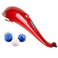厂家直销璐瑶正品智能型海豚远红外全身按摩电动按摩棒/按摩锤