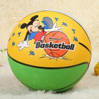 厂家批发 3号橡胶篮球 儿童卡通篮球 幼儿园篮球 正品胶蓝 特价