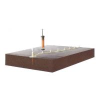 陕西西安混凝土厂房地面空鼓怎么修复/正祥AB-1树脂胶