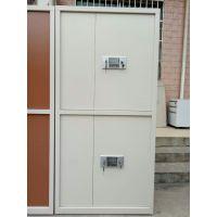 新疆红光牌H009型钢制双节电子保密柜