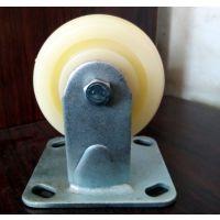 河北衡水市衡赢脚轮厂4寸工业重型白尼轮 塑料PP万向脚轮 重载移动滚轮 定向轮子