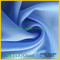 RPET平雪纺面料 再生涤纶面料 再生环保面料