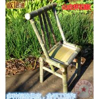供应怀旧款农家乐竹椅 竹节椅子 户外竹凳 环保家具椅子全手工