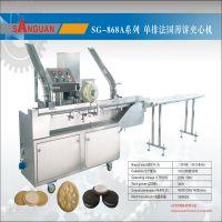 广东中山三冠机械直接销售高速饼干夹心机 夹心机 夹心饼干机