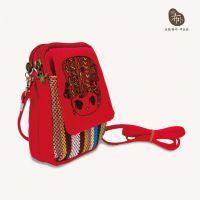 厂家直供民族风包包女士迷你手机包斜挎小包单肩帆布女包零钱包