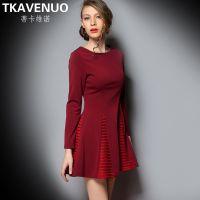 2015年春季新款欧洲站品牌女装欧美高端连衣裙服装批发代理加盟