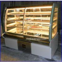 新疆蛋糕柜 蛋糕展示柜价格 佳伯蛋糕冷藏展示柜定做尺寸