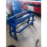 手动式脚踏剪板机彩钢瓦剪板机博远压瓦机厂销