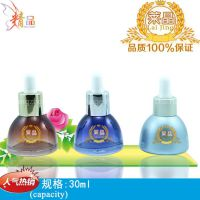 china sales and exports cosmetic 30ml essential oil glass bottle glass dropper bottles  with squeeze inserted dropper