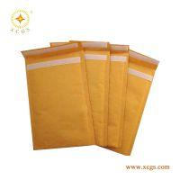 北京地区批发黄色牛皮纸气泡信封袋物流包装袋服装气泡自封包装袋关键词加厚定制