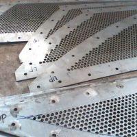 玉米筛网/食品加工金属筛板/不锈钢圆孔过滤网/304/316穿孔网