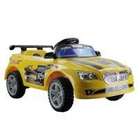 儿童电动玩具车 遥控四轮电动跑车 宝宝玩具车可坐