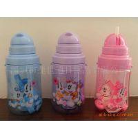 【专业供应】迪士尼可爱宝宝双层保温卡通儿童水壶 儿童杯子