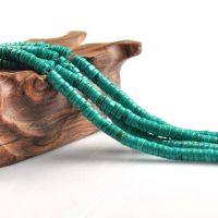DIY饰品配件材料批发美国绿松石算盘珠隔珠散珠半成品