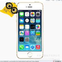 iphone5S金色彩屏手机模型机 苹果5S金属模型机 苹果机模展示