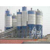 长期供应混凝土搅拌站HZS50站配三台100吨水泥仓\混凝土搅拌机械