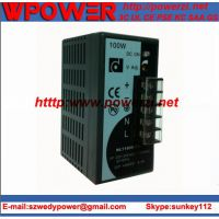 NL1100D-24,24V4A导轨式开关电源