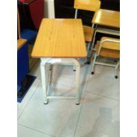 【厂家直销】双人单层升降学生课桌椅 加厚材质湖南长沙 包邮
