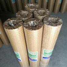 旺来钢筋网焊接网 浸塑电焊网 墙面防裂铁丝网